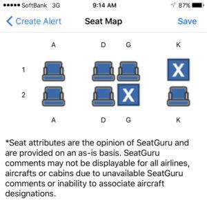 1K Blocked (Seat Alerts app)