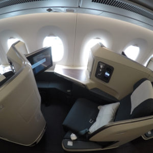 Cathay Pacific A350 Business Class 15K