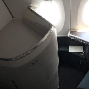 Seat 12K Bassinet Area