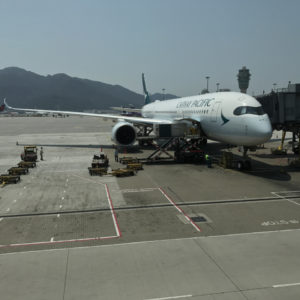 Cathay Pacific A350 @ HKG