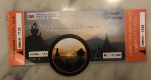 Borobudur Sunrise Ticket