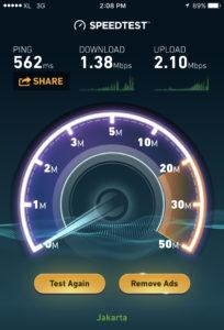 Indonesia Speedtest
