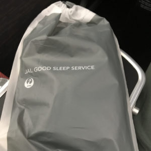 JAL Good Sleep Service Bag