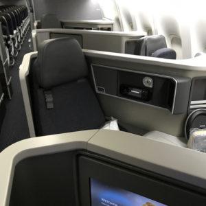 Alternating Rear-Facing Seats