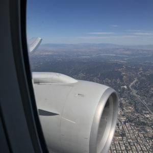 Landing @ LAX