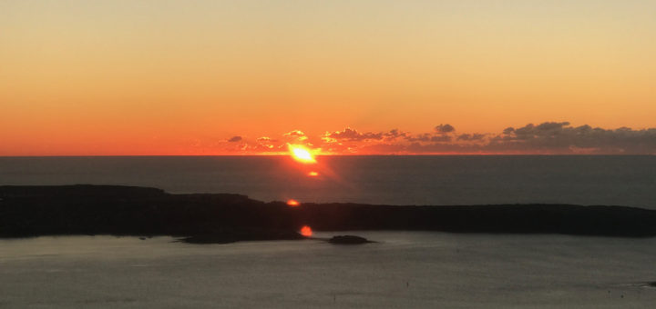 Sunrise Sydney