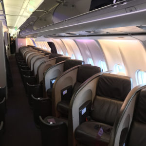 "Upper Class ""A"" Seats A340"