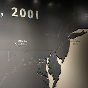 Path of Planes on 9/11/01