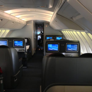United 747 Upper Deck