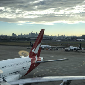 View of Downtown Sydney