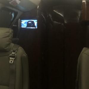 Cockpit Partition Closed
