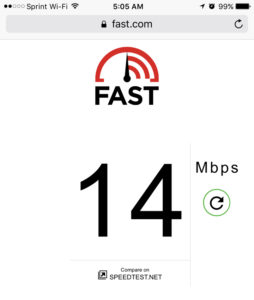 14Mbps Down