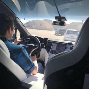Daniel Driving in San Diego