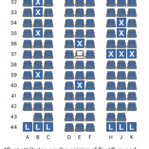 Blocked Seats (Row 37)