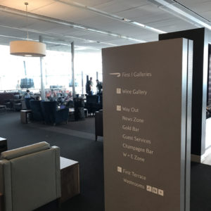 BA Galleries First Lounge LHR T5