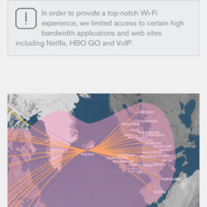 Inflight WiFi Coverage