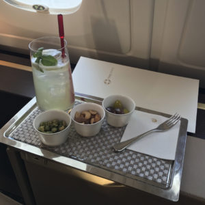 Mojito and Snacks