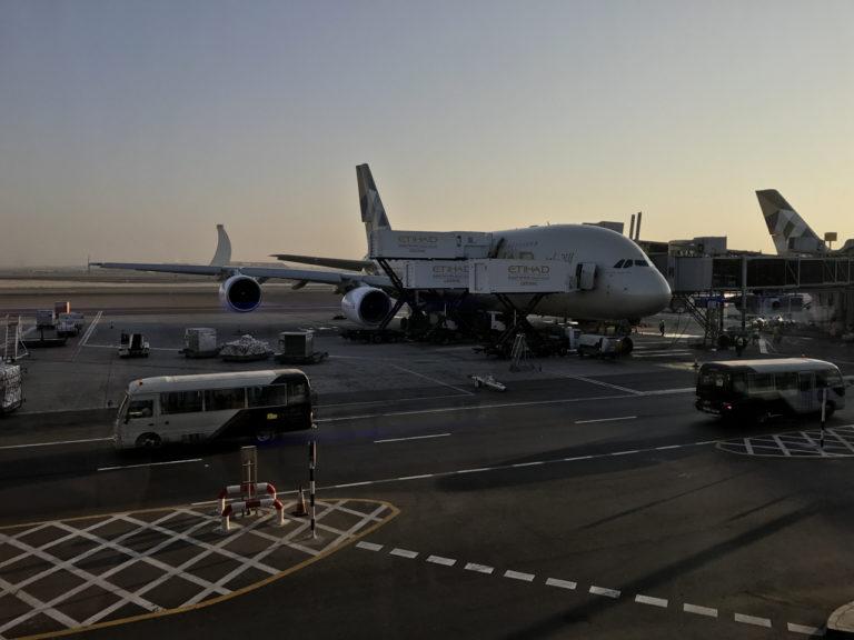 Etihad A380 @ AUH