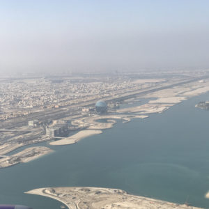 Taking off from AUH