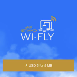 Expensive Inflight WiFi by OnAir