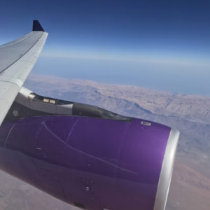 Flying over Oman