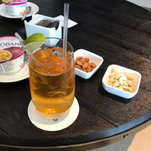 Mint Iced Tea & Snacks