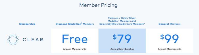 CLEAR Delta Promo Pricing