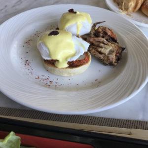 Maldivian Style Eggs Benedict