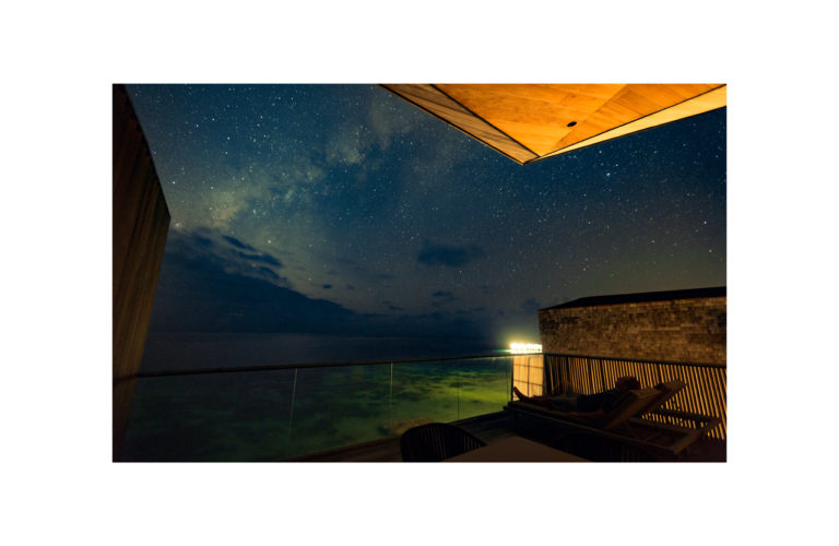 Star Gazing from Family Villa Upper Deck