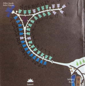 Map of Overwater Villas
