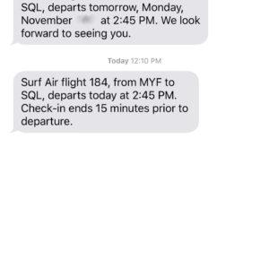 SMS Alerts