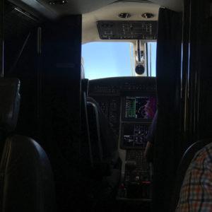 Cockpit of Pilatus PC-12NG