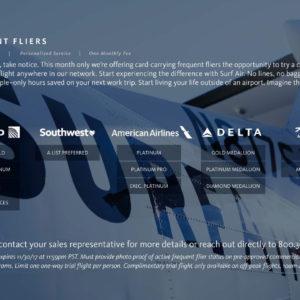 Surf Air Elite Promo