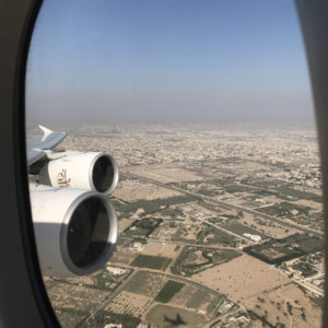 Takeoff from DXB