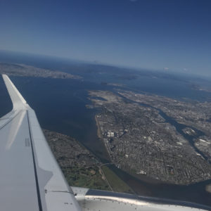 Takeoff from SFO