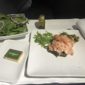 Smoked Salmon & Salad