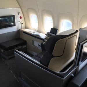 Seat 1K
