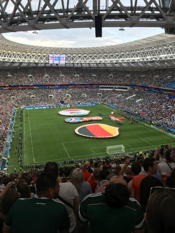 Luzhniki Stadium, World Cup 2018