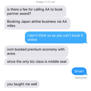Booking Advice