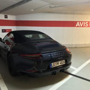 Lufthansa Porsche Experience