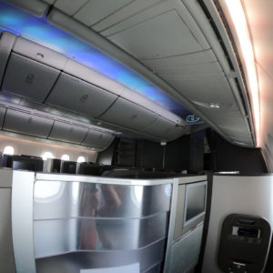 Forward Business Cabin B787-9