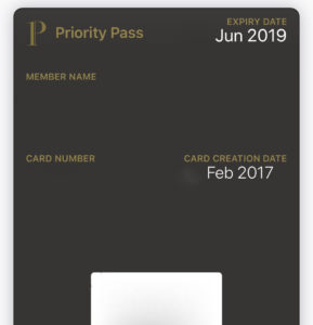 Priority Pass Digital Card