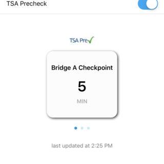 PreCheck Bridge A Checkpoint