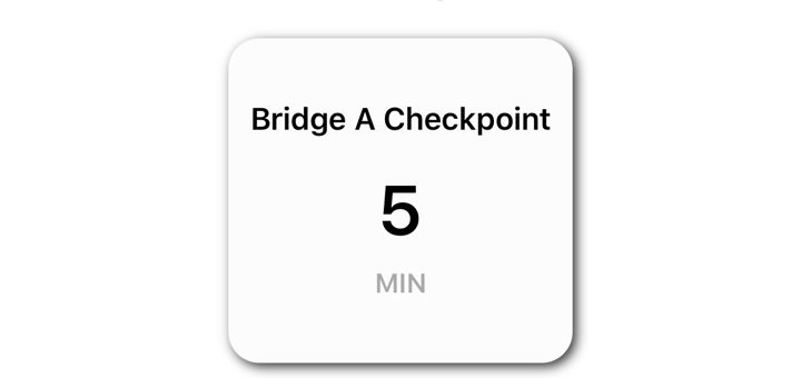 PreCheck Bridge A Checkpoint