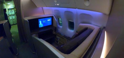 SQ First Class B777-300ER 1F
