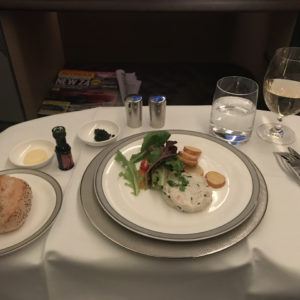 Malossol Caviar with Crabmeat Salad