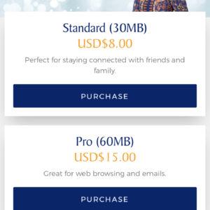 WiFi Pricing