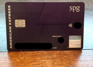 AMEX SPG Luxury Card