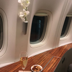 Champagne and Warm Nuts