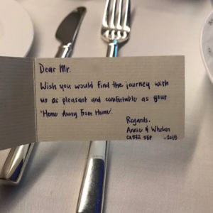 Bon Appetit Card from Crew